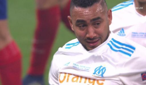 Dimitri Payet faces World Cup KO with France as tearful Marseille star is forced off injury in Europa League final against Atletico Madrid