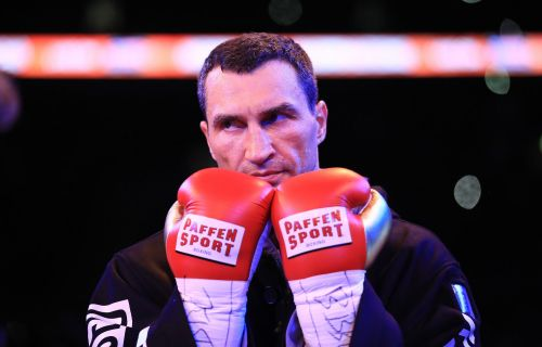 Wladimir Klitschko had to be rescued at sea when the chartered boat he was on caught fire