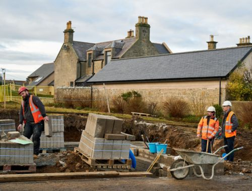 GALLERY: Lossiemouth residents to benefit from a new community pavilion at Marine Park