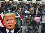 Trump's travel ban prompted 15,000 extra Americans to rush back home in a single day from Europe
