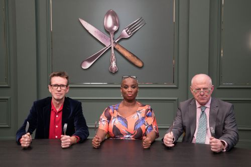 Who are the Great British Menu judges?