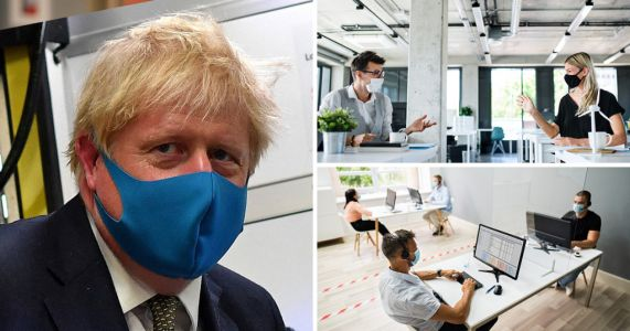 Face masks could be compulsory in offices to get people back to work
