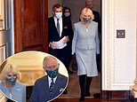 Camilla and Prince Charles visit theHeadquarters of the Bank of England today