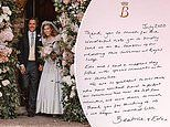 Princess Beatrice calls wedding day to Edo Mapelli Mozzi 'magical' in handwritten thank you note