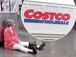 'Costco Karen' launches furious tirade in superstore after she refused to put on a face mask