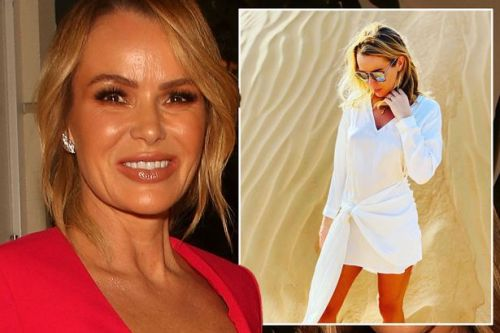Amanda Holden fans notice her fake tan mishap as she shares sizzling holiday snap