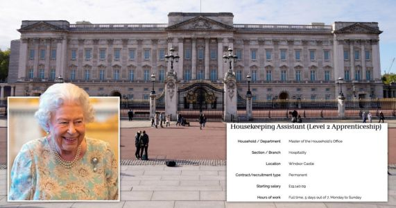 Queen hiring trainee housekeeper who will live at Buckingham Palace