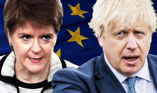 Nicola Sturgeon and Boris Johnson's rift to erupt as Scots lose £4billion over Brexit