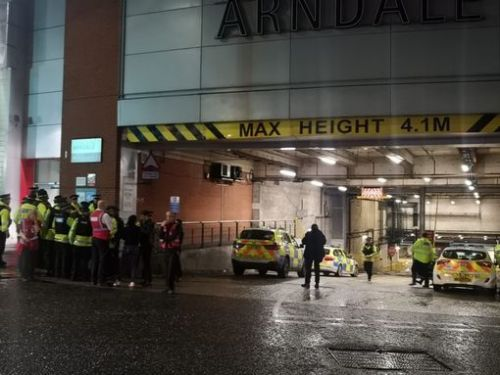 Manchester Arndale Centre evacuated as cops rush in just a week after triple stabbing