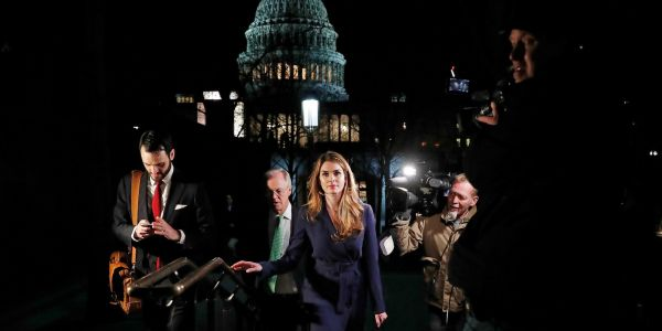 How 31-year-old Hope Hicks became the youngest White House communications director in history and a top executive at Fox before returning to counsel Trump