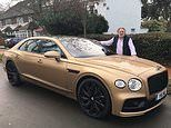 Ready for take off: Bentley's new £150k V8 Flying Spur driven