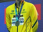 Mack Horton says he is 'overwhelmed' after after swim cheat Sun Yang eight-year ban from the sport