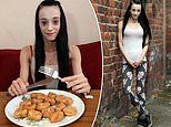 Mother-of-three survives on a diet of just chicken nuggets and crisps
