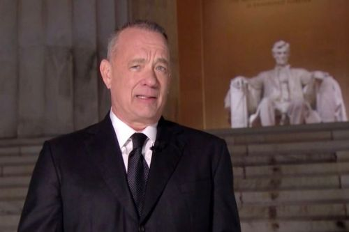 Tom Hanks welcomes Biden era's 'dream of America' after turbulent four years