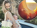 Jessica Hart admits she's 'bored' in hotel quarantine after returning to Australia from Los Angeles
