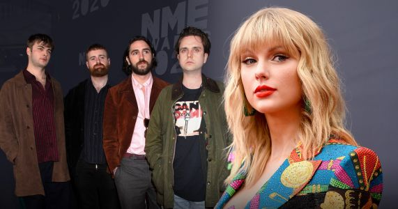 Taylor Swift's Folklore could be knocked off number one spot by Irish band Fontaines DC's new album
