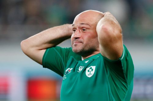 Guinness urges fans to 'have a pint of Carlsberg' after New Zealand hammer Ireland in Rugby World Cup quarter final