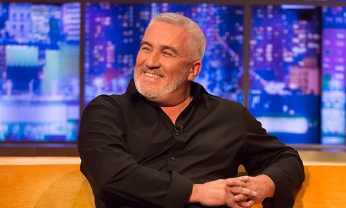 Great British Bake Off's Paul Hollywood looks unrecognisable with long hair!