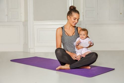 Pregnant Helen Flanagan unveils specialist post natal exercise routines
