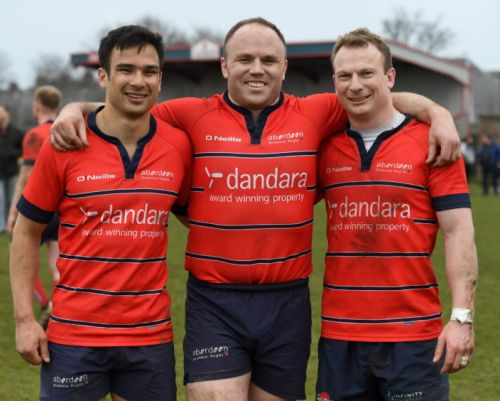 Colin Neilson happy to pitch in with Aberdeen Grammar's community effort