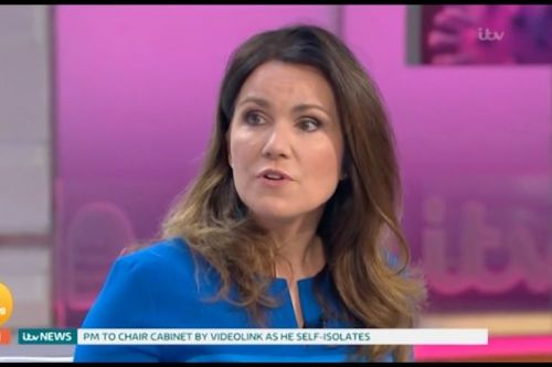 Piers Morgan tells public to 'get a grip' as Susanna talks 'difficult' lockdown
