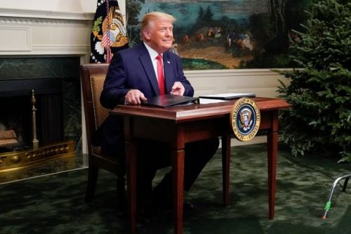 Trump Releases 46 Minutes Of Lies Falsely Asserting 'Fraud' In 2020 Election