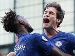 Chelsea 1-0 Newcastle: Marcos Alonso gives Frank Lampard's side the edge