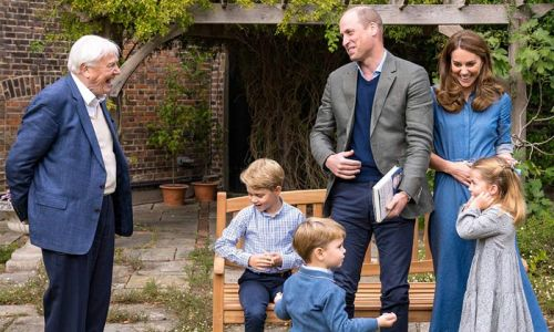 Prince William and Sir David Attenborough spark reaction with mistake in new photos
