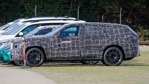 New BMW X8 SUV spied for the first time