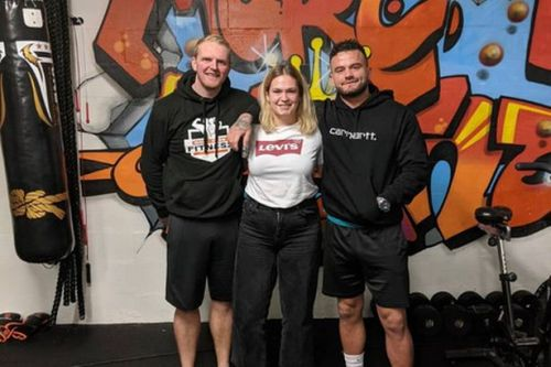 Gym owners take on cycling challenge to raise money for community fridge