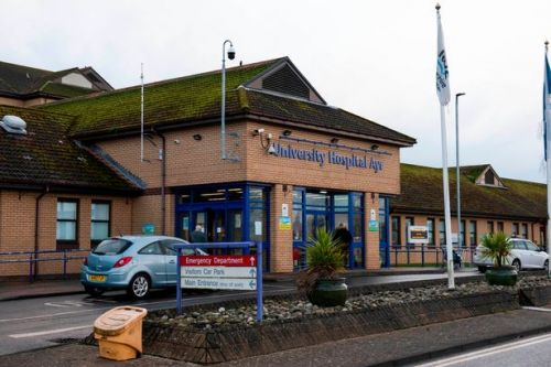 Elective surgery postponed in Ayrshire hospitals