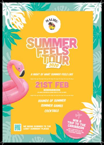 A Malibu Summer Feels party with free drinks coming to Glasgow - here's everything you need to know