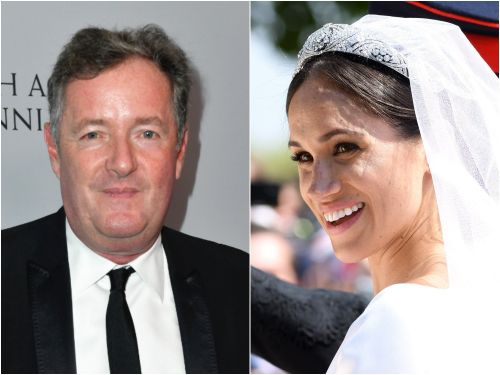 Piers Morgan leaked a private message Meghan Markle sent him before she was a royal, where she said she was a 'big fan' of the TV host