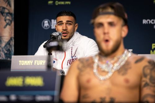 Frank Warren delivers major update on Tommy Fury's potential clash with Jake Paul