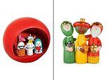 Life's little luxuries:FEMAIL picks out a selection of nativity sets for your home this Christmas