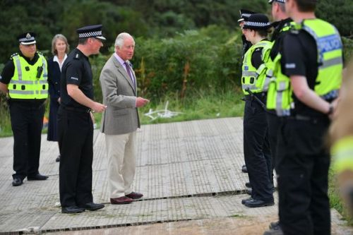 Prince Charles pays visit to Stonehaven train crash site as probe confirms cause