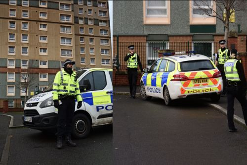 Terrified residents 'hear of suspicious device on TV' after bomb squad called to Motherwell polling station
