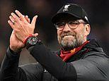 Jurgen Klopp named Premier League Manager of the Season after masterminding Liverpool's title glory