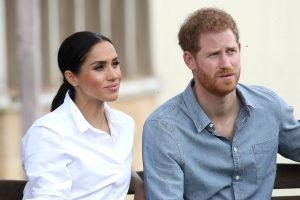 Meghan Markle just shut down Prince Harry's comments about ageing