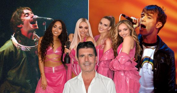 Simon Cowell compares Little Mix rivalry to Blue versus Oasis as The X Factor clash continues