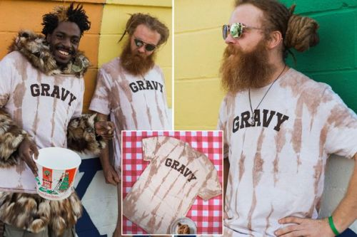 KFC fans can now get a £38 gravy-stained shirt that smells like the fast-food chain
