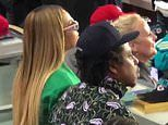Jay-Z insists he and Beyonce sitting during national anthem at Super Bowl was NOT a silent protest