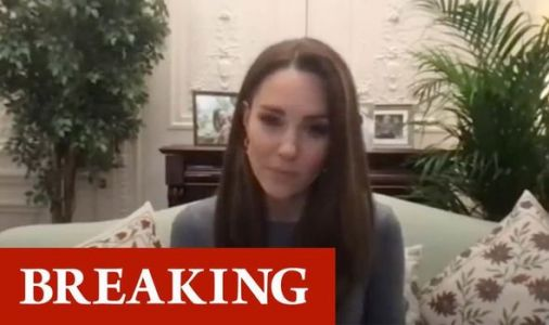 Emotional Kate 'visibly moved' as she chats with Holocaust survivors - VIDEO