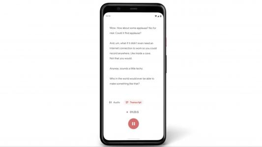 Google Recorder is a real-time transcription app that even works when you're offline