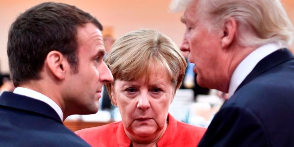 France and Germany pulled out of talks to reform the WHO because the US was trying to take control, according to a report
