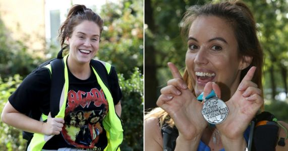 They did it! Celebs and readers complete gruelling 26-mile hike for charity