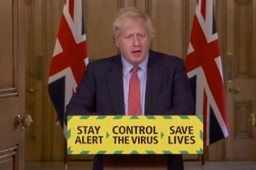 Boris Johnson confirms reopening of shops from June 1 as lockdown eased