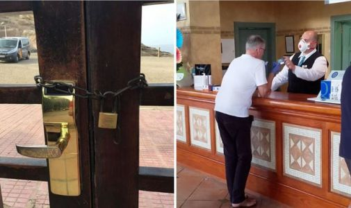 Coronavirus: Quarantined Brits told to stay calm as Tenerife hotel shuts over outbreak
