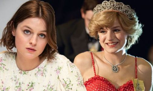 The Crown's Princess Diana star Emma Corrin rushed to hospital after filming Netflix show