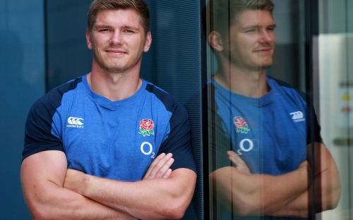 Owen Farrell and England rugby players on the Cricket World Cup win